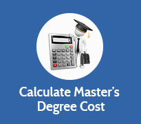 Calculate cost of Master's Degree